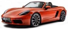 Bburago 21087OR Porsche 718 Boxster, lava orange