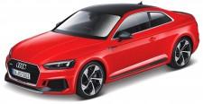 Bburago 21090R Audi RS5 Coupe rot