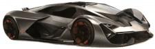 Bburago 21094Z Lamborghini Terzo Millennio grau