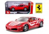 Bburago 26009 Ferrari F430 Fiorano rot