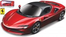 Bburago 26028R Ferrari SF90 Stradale rot