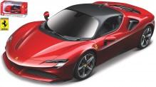 Bburago 36053R Ferrari SF90 Stradale rot