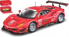 Bburago 36301R Ferrari 488 GTE #62