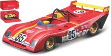 Bburago 36302R Ferrari 312P #85 1972