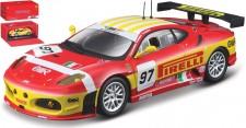Bburago 36303R Ferrari F430 GT2 #97