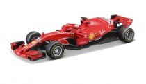 Bburago 36808V Ferrari 2018 SF71-H - S. Vettel