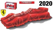Bburago 36823L Ferrari Scuderia #5 S.Vettel 2020