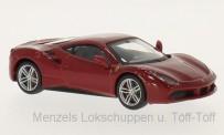 Bburago 36904R Ferrari 488 GTB, rot