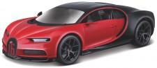 Bburago 42029 Bugatti Chiron Sport rot/schwarz