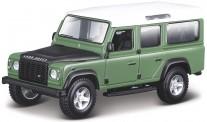 Bburago 43029G Land Rover Defender 110 grün