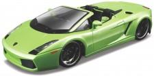 Bburago 43051 Lamborghini Gallado Spyder grün