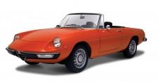 Bburago 43211 Alfa Romeo Spider 1966