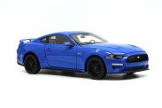 DM Diecast Masters 61003 Ford Mustang 2019 Kona Blue (LHD)