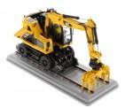DM Diecast Masters 85661 Cat M323F Rail / Zweiwegebagger gelb