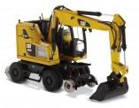 DM Diecast Masters 85662 Cat M323F Rail / Zweiwegebagger CAT gelb