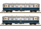 LGB 36658 RhB Personenwagen-Set 2-tlg Ep.5