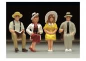 LGB 51406 Amerikanische Figuren sitzend