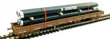 LOEWE 2083 Ladegut Stahlröhren VEB Schwarze Pumpe