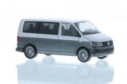 Rietze 11660 VW T6 Bus KR reflexsilber/indiumgrau