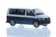 Rietze 11661 VW T6 Bus KR reflexsilbe/starlight blue