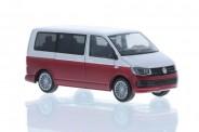 Rietze 11662 VW T6 Bus KR reflexsilbe/fortanarot