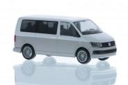 Rietze 11665 VW T6 Bus KR candyweiß/ascotgrau