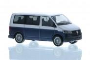 Rietze 11671 VW T6.1 Bus KR reflexsilbe/starlight blu