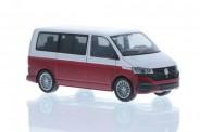 Rietze 11672 VW T6.1 Bus KR reflexsilbe/fortanarot