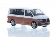 Rietze 11673 VW T6.1 Bus KR candyweiß/copper bronze