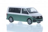 Rietze 11674 VW T6.1 Bus KR candyweiß/bay leaf green