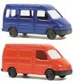 Rietze 16001 Set: Ford Transit Kasten / Bus