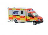 Rietze 61736 MB Sprinter WAS-RTW Ambulanz Aicher