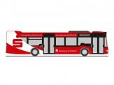 Rietze 69489 MB Citaro DB Frankenbus/Sparkasse