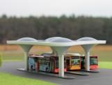 Rietze 70510 Moderner Busbahnhof Fertigmodell