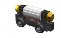 Rietze 70813 Universalantrieb-Festeinbau H0m 30,5mm