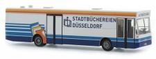 Rietze 72101 MAN SL202 Bücherbus Düsseldorf