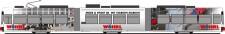 Rietze STRA01003 VAG Straßenbahn GT6N 3-tlg Ep.6 dmy.