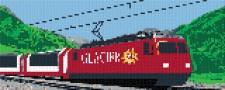 mini Pixel 10006 Fertigbild Panoramabahn (66,6 x 26,6cm)
