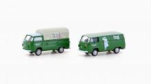 Lemke Minis 3916 VW T2 2er Set Persil
