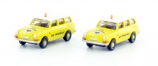 Lemke Minis 4115 VW 1600 L Variant ADAC Set 2-tlg