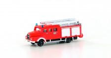 Lemke Minis 4221 MAN LF 16-TS Feuerwehr, leuchtrot