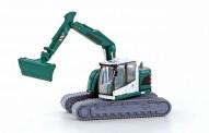 Lemke Minis 4257 Liebherr Compact Bagger Kette grün/weiß