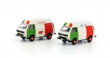 Lemke Minis 4307 VW T3 Bus HD Pizza/Eis Set 2-tlg