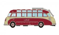 Lemke Minis 4454 Setra S8 Knecht, rot/beige