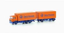 Lemke Minis 4605 MAN F90 Koffer-Hänger-HZ Deutrans