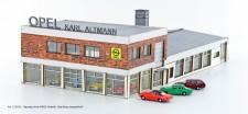 Lemke Minis 5031 OPEL Autohaus inkl. 4x Opel Rekord