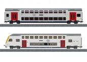 Märklin 43573 SNCB Doppelstockwagen-Set 2-tlg Ep.6