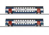 Märklin 43574 SBB Doppelstockwagen-Set S-Bahn Ep.6