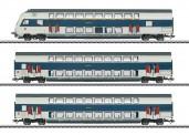 Märklin 43599 DSB Doppelstockwagen-Set 3-tlg Ep.6