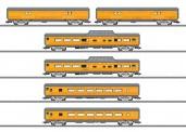 Märklin 43617 U.P. Personenwagen-Set 6-tlg. Ep.6